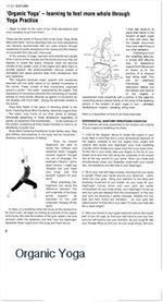 Organic Yoga