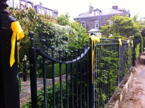 Getting in the TDF spirit with Yellow Bows